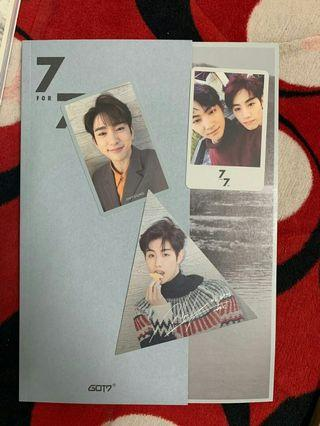 WTS GOT7 7FOR7 PRESENT EDITION