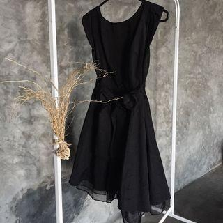 JILL STUART black dress