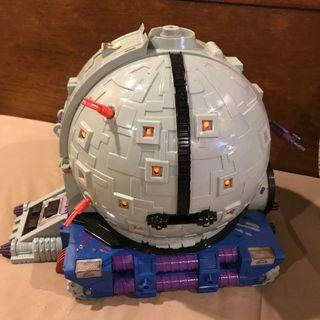 TMNT Technodrome original 1990 toy almost complete