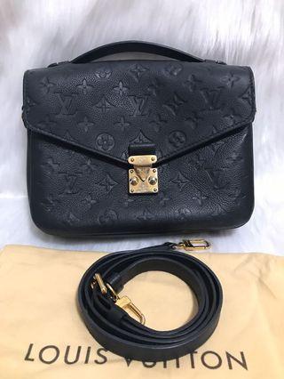 💥FAST DEAL💥Louis Vuitton Metis Black Empriente Leather