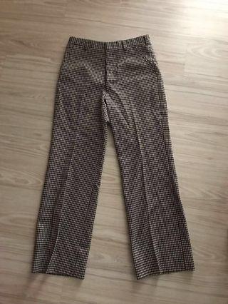 Vintage 70年代pattern喇叭褲