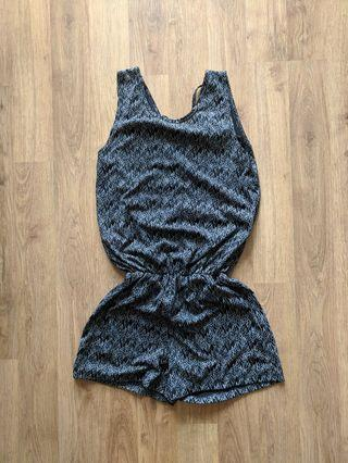 Romper with Tie back