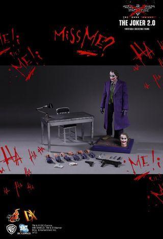 🚚 Joker - The Dark Knight (Batman) Hot toys dx11