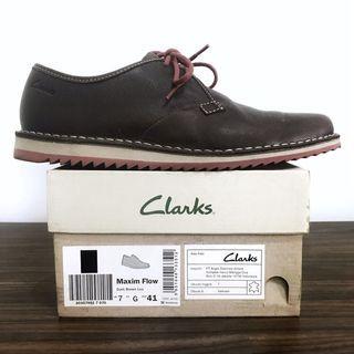Sepatu Clarks Shoes Maxim Flow Original