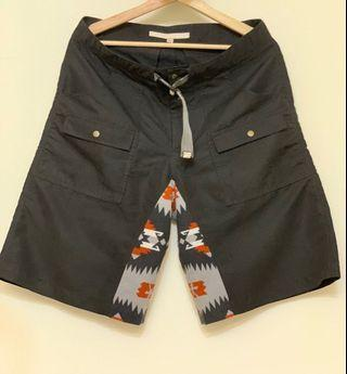 🚚 oqliq 前身 bilbo  Versatile Shorts 黑色多功輕量化材質短褲