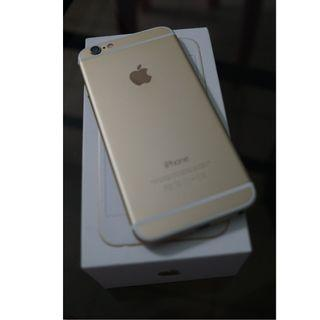 iphone 6 gold 32gb no scratches (accept swap w/ip7)