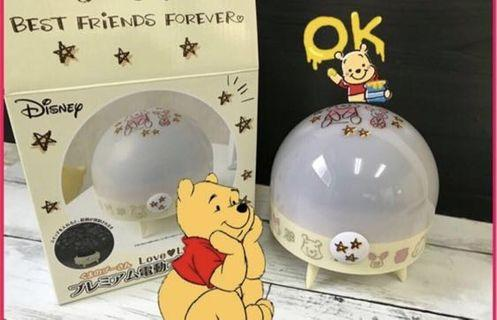 Display貨品平售 Winnie the Pooh 小熊維尼 室內投影燈