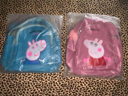 🈹$49包郵🐷🐷實用Peppa Pig斜孭袋