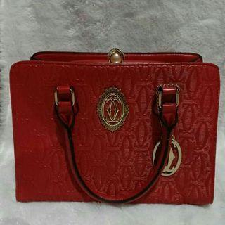 Tas Import Merah