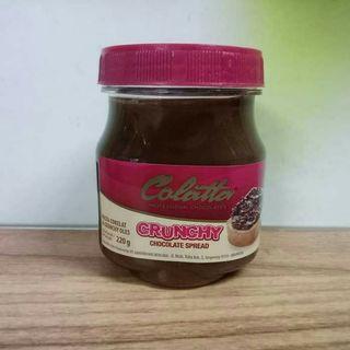 COLATTA CRUNCHY CHOCOLATE SPREAD / COKELAT & CRUNCHY OLES 220GRAM