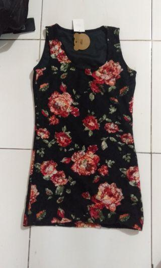 Flower Tanktop dress