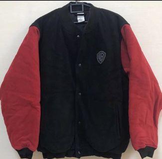 Brand New Authentic Warner Bros Studios Store Jacket Black & Red