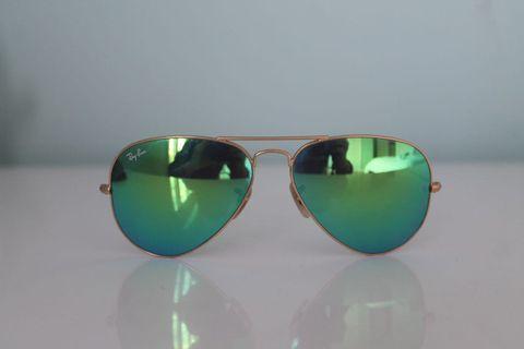 Ray-Ban Aviator Sunglasses - Green
