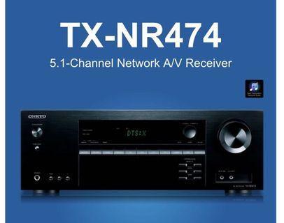 Onkyo TX-NR474 5.1ch Network AV Receiver