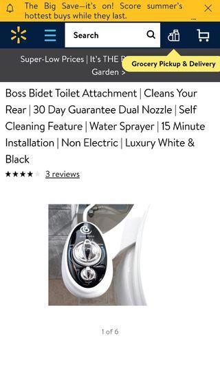 Boss Bidet Toilet Attachment