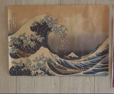 Japanese Craft paper poster