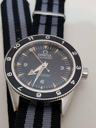 Omega Seamaster 007 Spectre edition
