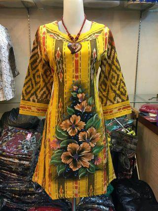 Midi Dress Tenun