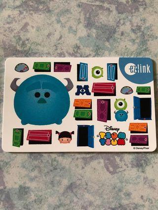 🚚 Monster Inc EZ-Link Card