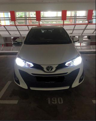 Toyota Vios 18 on H8/H11 Customised Cree Led Headlight Bulb not H4 H7 HB3 9005 HID Philips Osram