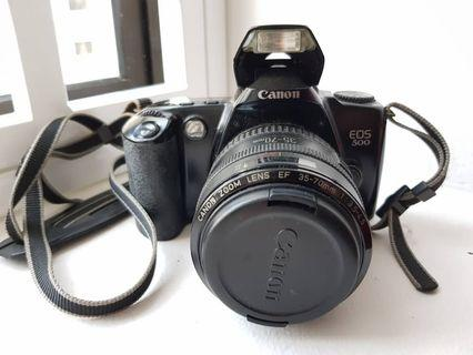 Canon Vintage camera EOS 500 (made in Taiwan)