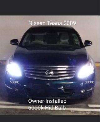 HID Xenon Bulb on Nissan Teana Headlight D2S no Error not led D1S D3S D4S D2R Philips Osram