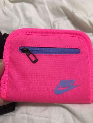 Nike wallet pink life style all new simple wallet
