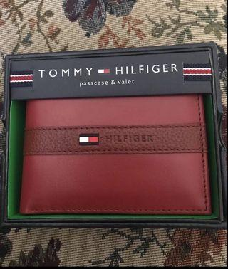 Red Tommy Hilfiger Wallet