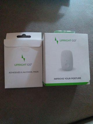 Upright go smart wearable pisture trainer ,