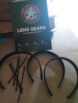 Wide open camera Lens Gear 3packs