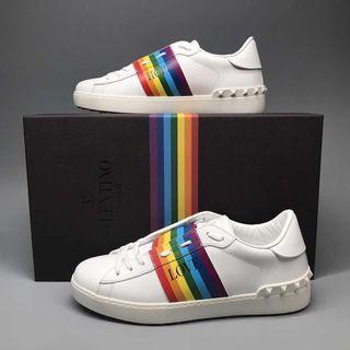 Valentino rainbow 🌈 sneakers 波鞋(男)size 39,39.5,40,40.5,41,41.5,42,42.5,43,43.5