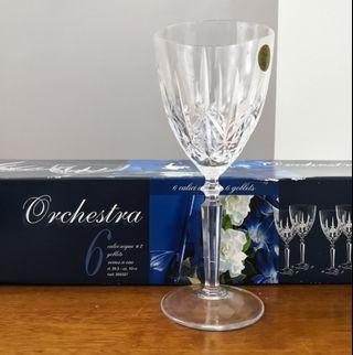 Orchestra Crystal wine glass 6