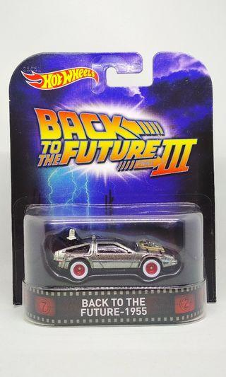Hot Wheels Back to the future Delorean