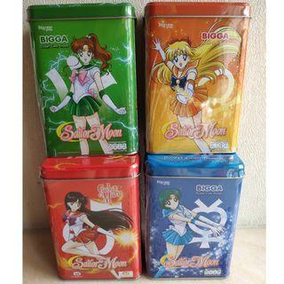 美少女戰士 Sailor Moon 儲物盒/鐵盒 4盒