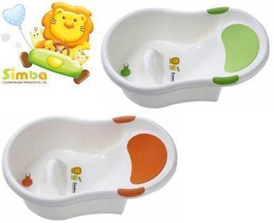 【小獅王辛巴】 不滑落浴盆(綠)