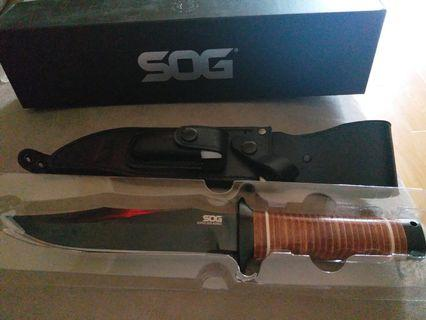 SOG super bowie fixed blade SB1T-L
