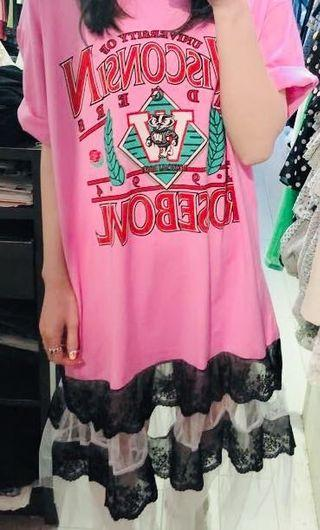Pink causal drsss (over size )