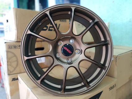 new sport rim 18 inch rays ze40 civic golf a45 a250
