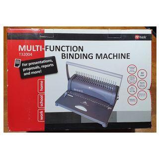 MULTI-FUNCTION BINDING MACHINE (New in Box)