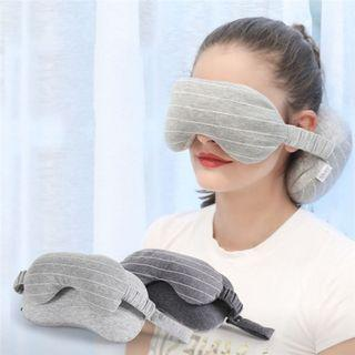 🚚 TRAVEL MASK AND PILLOW: Pre-order 9 days delivery