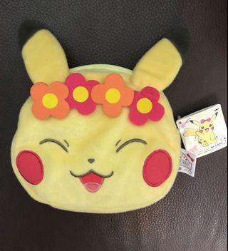 日本帶回 皮卡丘 萬用包  零錢包 超可愛