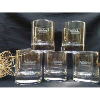 Whisky Glass with etched