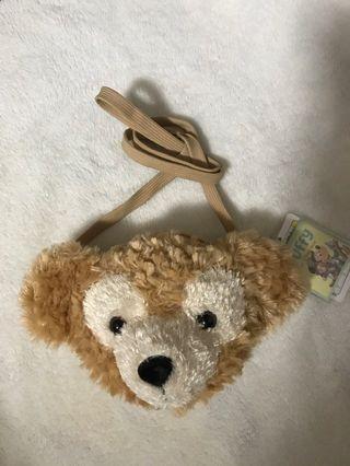 日本迪士尼 Duffy熊 零錢證件包 正版