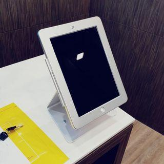 """🚚 9.7"""" iPad table stand with lock for ipad 2/3/4 air rotate check in Whatsapp:8778 1601"""
