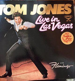 Tom Jones Vinyl Album