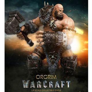 魔獸 Warcraft - 1/9 奧格瑞姆 Orgrim Doomhammer figure 原價 $1499 清貨 $1000