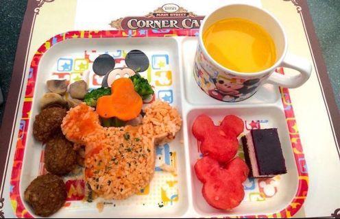 迪士尼樂園餐券 Disneyland Meal coupon