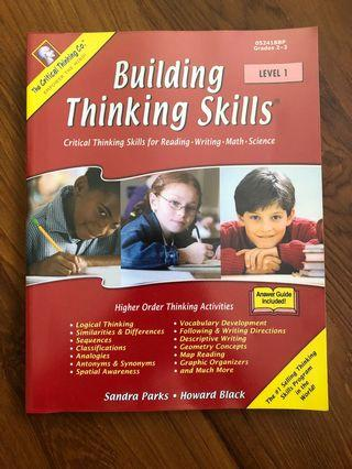 """The Critical Thinking Co. """"Building Thinking Skills Level 1"""""""