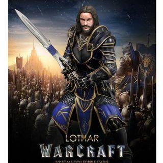 魔獸 Warcraft - 1/9 安度因·洛薩 Lothar figure 原價 $1299 清貨 $800