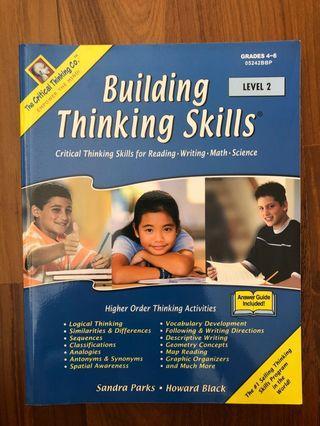 "The Critical Thinking Company ""Building Thinking Skills Level 2"""